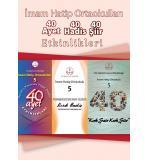 İ.H.O. 5.Sınıf 40 Ayet-40 Hadis-40 Şiir Etkinlik Kitabı