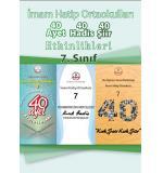 İmam Hatip Ortaokulu  7.Sınıf 40 Ayet - 40 Hadis - 40 Şiir Etkinlik Kitabı