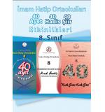 İmam Hatip Ortaokulu 8.Sınıf 40 Ayet - 40 Hadis - 40 Şiir Etkinlik Kitabı