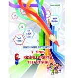5. Sınıf Renkli Arapça Test Kitabı / (Yeni Baskı)Hasan Akreş