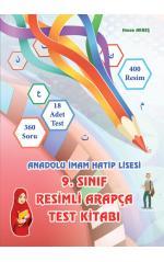 9. Sınıf Arapça Resimli Arapça Test Kitabı/ (Yeni Baskı)Hasan Akreş