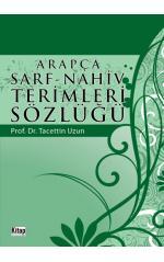 Arapça Sarf - Nahiv Terimler Sözlüğü
